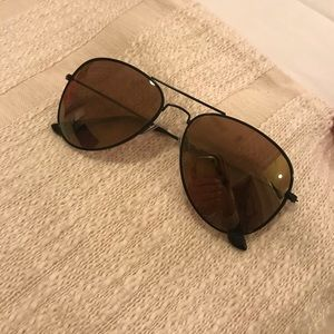 NEVER WORN Aviator sunglasses